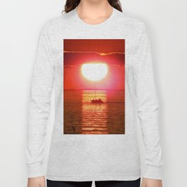 Sailboat Holds the Sun Long Sleeve T-shirt