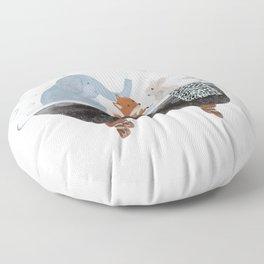 little bath time Floor Pillow