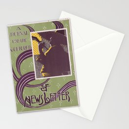 Affiche sf newsletter   a journal for the cultured. 1900  Stationery Cards