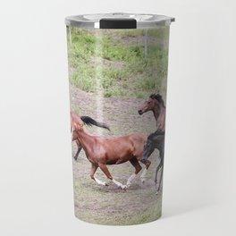 Running Herd Travel Mug