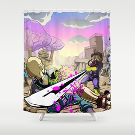 The Outlands Shower Curtain