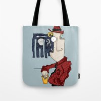drink Tote Bags featuring DRINK by Ivano Nazeri