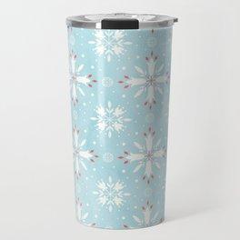 Christmas snowflakes pattern Travel Mug