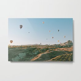 up n away Metal Print