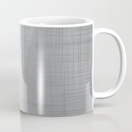 In The Flow - Geometric Minimalist Grey Coffee Mug