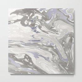 Grey Marble #society6 #decor #buyart Metal Print