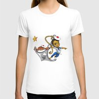 marine T-shirts featuring Marine by Andre auguste-charlery