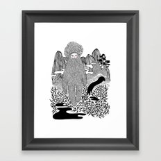 Cudak górski Framed Art Print