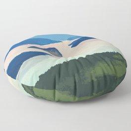 Shuswap Lake Provincial Park Floor Pillow