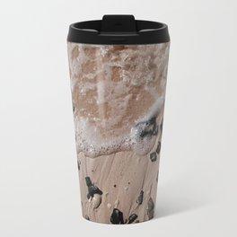 Sand, Rocks, Waves Travel Mug