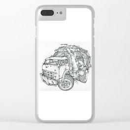 Truck Clear iPhone Case