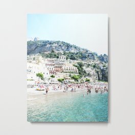Positano beach II Metal Print