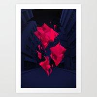 akira Art Prints featuring Akira by Sean Ostashek