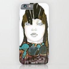 Warrior fashion portrait Slim Case iPhone 6s