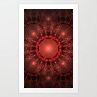 solar system Art Prints featuring Solar System by Brian Raggatt