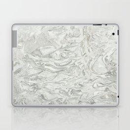 Grey marble surface pattern Laptop & iPad Skin
