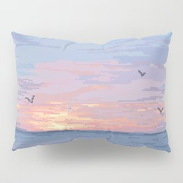 Seagull Sunrise Pillow Sham