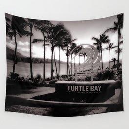 Turtle Bay Resort Hawaii Wall Tapestry