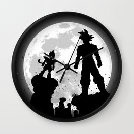 Fight moon Wall Clock