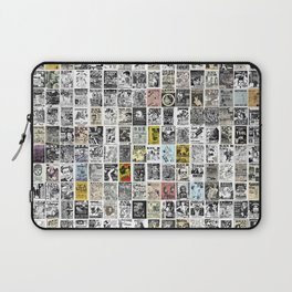 1980's Vintage Punk Flyers Laptop Sleeve