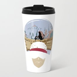 Luffy VS Doflamingo Travel Mug