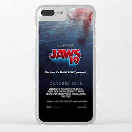 BACK TO THE FUTURE - Jaws 19 Clear iPhone Case