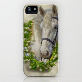 Horse 1 iPhone Case