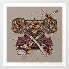 Honey Trap Art Print