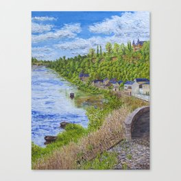 Chinon France Canvas Print