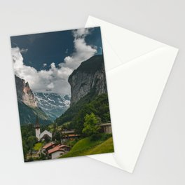 Lauterbrunnen Valley Stationery Cards