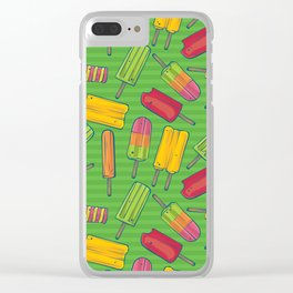 Poppin' Popsicles Clear iPhone Case