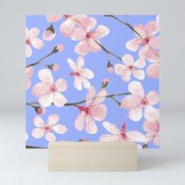 Cherry Blossom Sky Mini Art Print