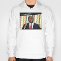 tim shumate Hoodies featuring Tim Scott by politics