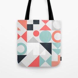 Modern Geometric 28 Tote Bag