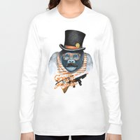 gangster Long Sleeve T-shirts featuring Gangster by dogooder