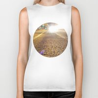 vancouver Biker Tanks featuring Dunsmuir Vancouver by RMK Creative