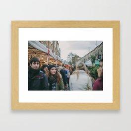 Columbia Road Flower Market, London Framed Art Print