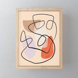 Mid-Century Line Modern Art # 64 Framed Mini Art Print