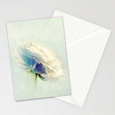 White Ranunculus Stationery Cards