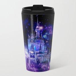 Celestial Palace : Purple Blue Enchanted Castle Travel Mug