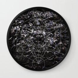Metatronic Wall Clock