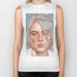 Falling Into Your Ocean Eyes, Billie Eilish Biker Tank