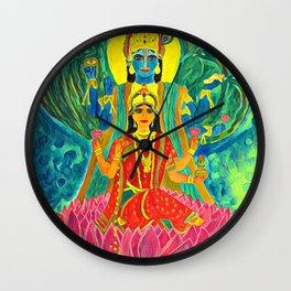 Lakshmi-Narayan Wall Clock