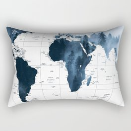 ALLOVER THE WORLD-Woods fog map Rectangular Pillow