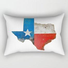 Rustic Texas Sign Rectangular Pillow