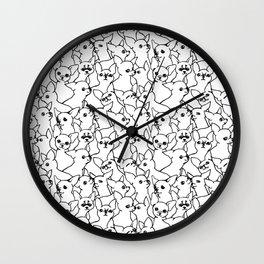 Oh Chihuahua Wall Clock