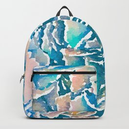 Hydrangea Abstract Backpack
