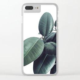 Ficus Elastica #13 #decor #art #society6 Clear iPhone Case