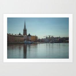 Lovely Swedish View Art Print