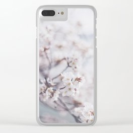 . flower day dream . Clear iPhone Case